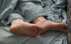 Carolyn's feet