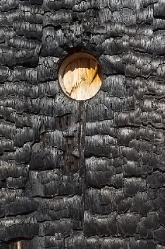 Burned Post