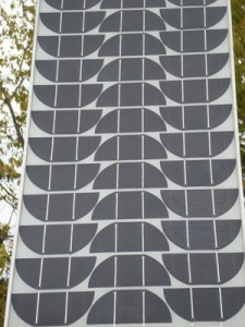 Bad Image of Solar Panel