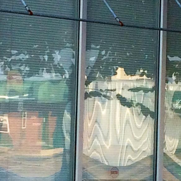 Julia Building Window, Downtown Carbondale