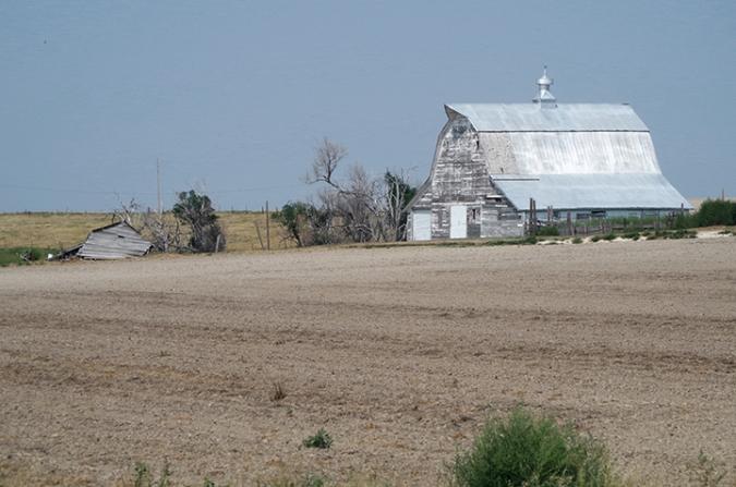 Barn, northwest Kansas