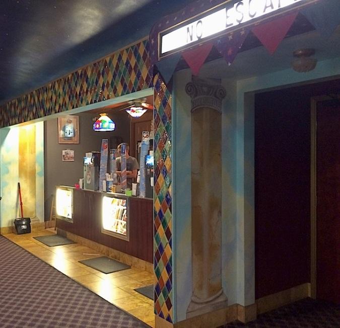 """No Escape"": Cover Theater, downtown Fort Morgan, Colorado"