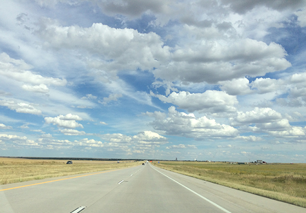 Heading home: eastern Colorado