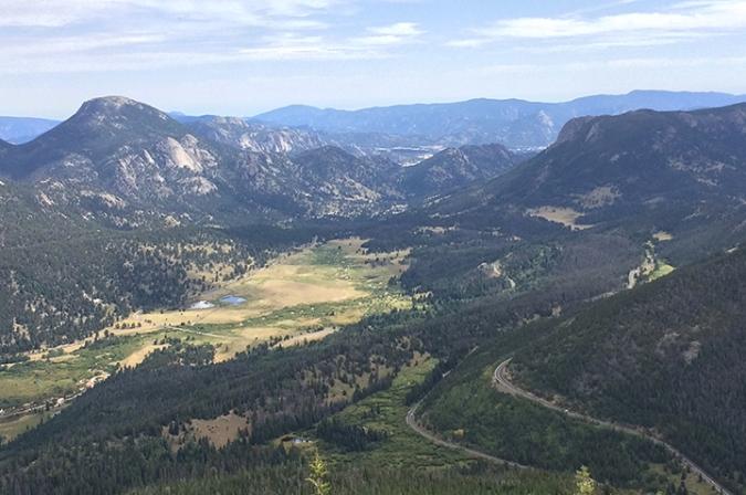 Rainbow Curve, Rocky Mountain National Park