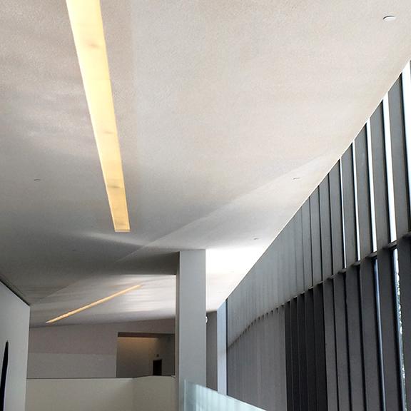 Bloch Building lights
