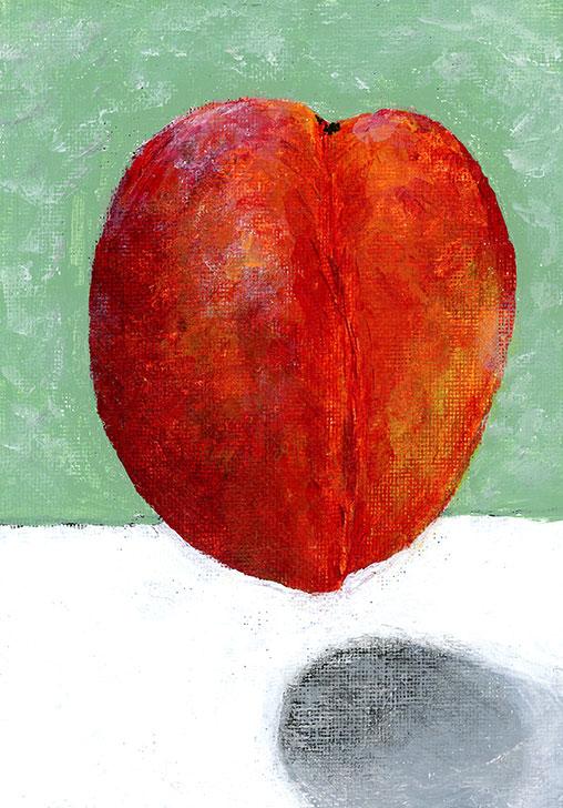 Peach-Painting107