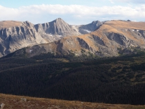 Portion of the Gore Range, Rocky Mountain Natl. Park