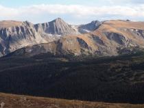 Portion of the Gore Range, Rocky Mountain Natl. Park