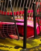 Slide entrance