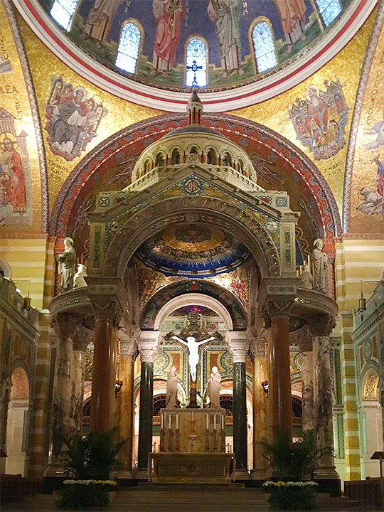 Altar, Cathedral Basilica of Saint Louis