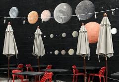 Bar patio, upper Larimer Street
