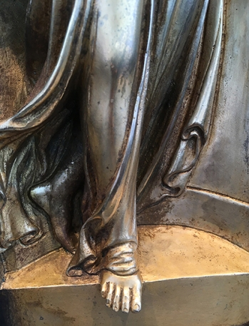 Detail - Gates of Paradise, by Lorenzo Ghiberti, Nelson-Atkins Museum of Art