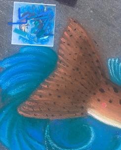 Fish in progress