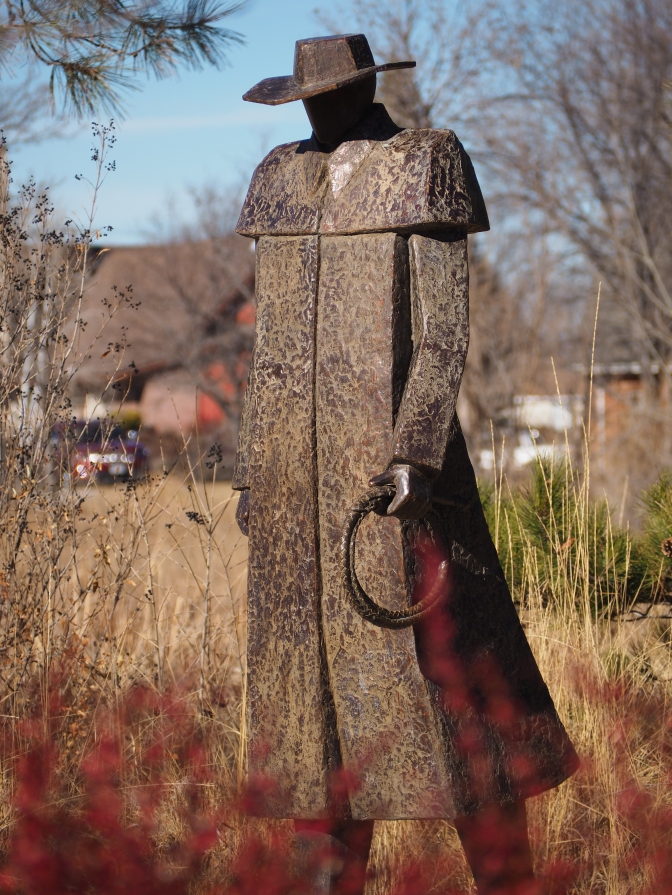 Storm's Brewing, by Jeannine Young, Benson Sculpture Garden