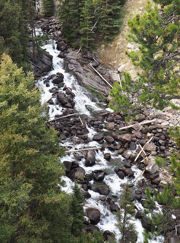 Waterfall west of Beartooth Pass