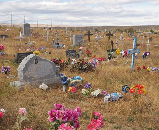 Sacajawea cemetery, Fort Washakie, Wyoming